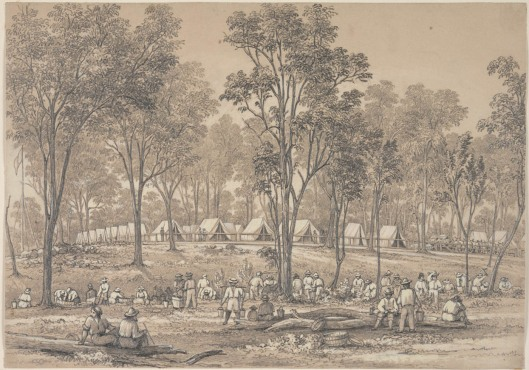 The Commissioner's Camp, Spring Creek diggings, May Day Hills,