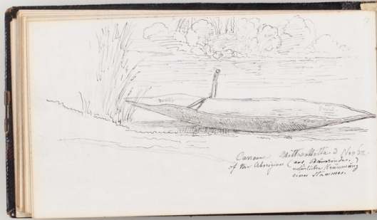 von_Guerard_Little_River_canoe