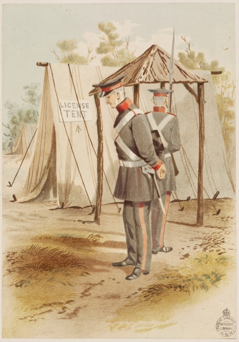 S. T. Gill, Licensing Tent